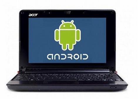 Android搭載のネットブック
