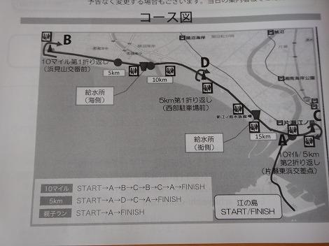 湘南藤沢市民マラソン コース図