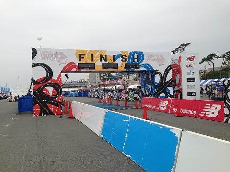 湘南国際マラソンfinish